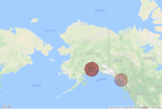 Map for CCPD/APD in Alaska