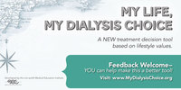 Matching Dialysis Options to Lifestyle with MyDialysisChoice.org